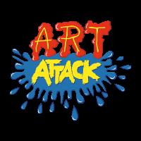 Art attack vector logo