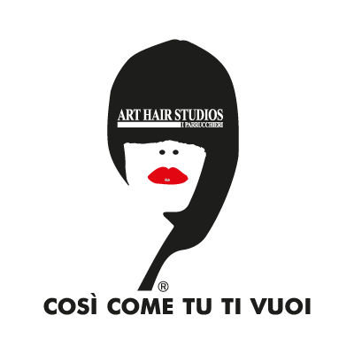 Art Hair Studios logo vector