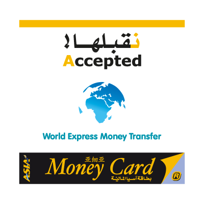 AsiaCard World Express Money Transfer logo vector
