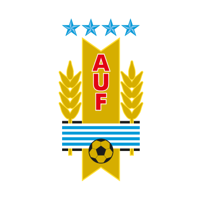 Uruguay football team logo vector