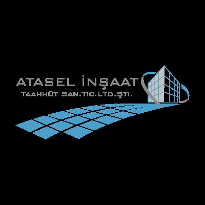 Atasel insaat logo vector