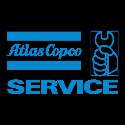 Atlas Copco Service logo vector