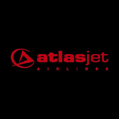 Atlasjet airlines logo vector