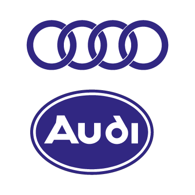 Audi Auto logo vector