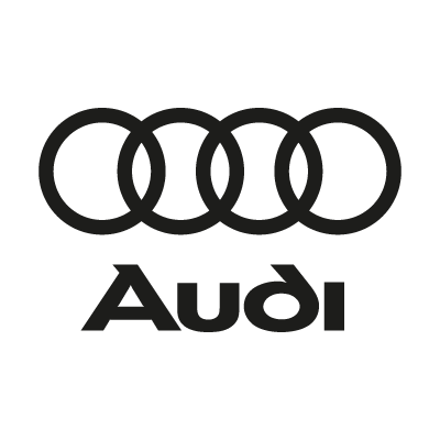 Audi Black logo vector