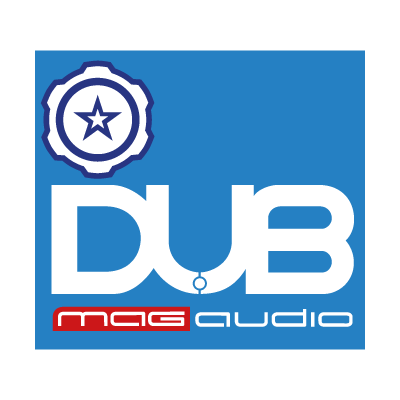 Audiobahn DUB Mag Audio logo vector