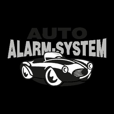 Auto Alarm System logo vector