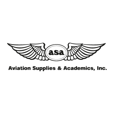Aviation Supplies & Academics logo vector