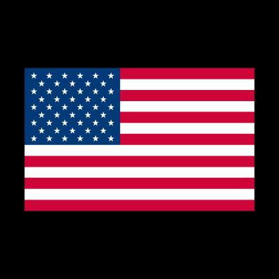 Flag of American vector logo