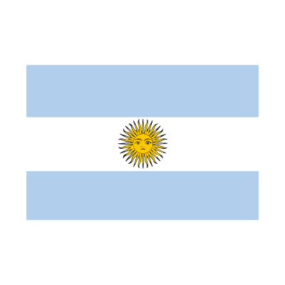 Flag of Argentina vector logo