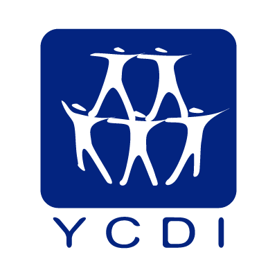 """Youth Center for Democratic Initiatives"" NGO logo vector"