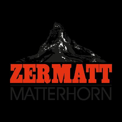 Zermatt Matterhorn logo vector