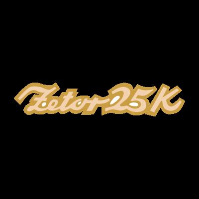 Zetor 25K logo vector