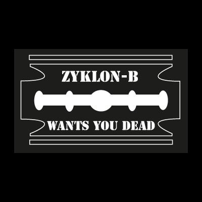 Zyklon-B logo vector