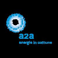 A2A energie in comune vector logo