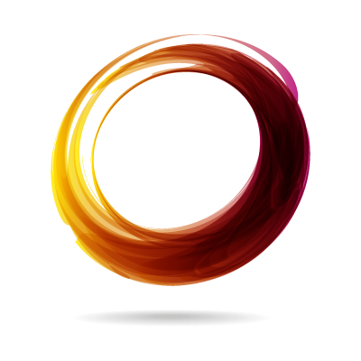 Abstract circle logo template