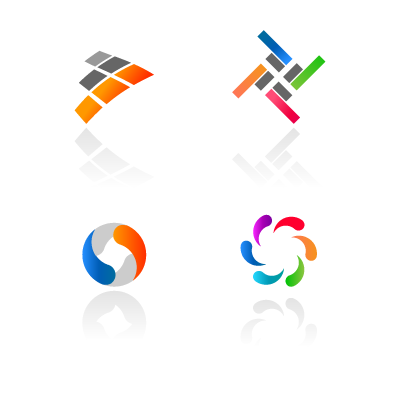 Abstract Colorful Logotypes logo template