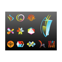 Abstract company logo template