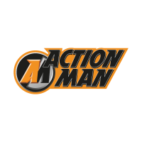Action Man vector logo