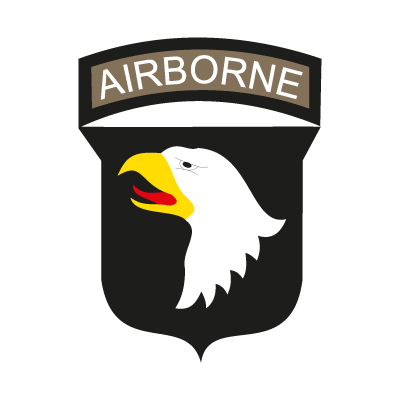 Airborne U.S. Army logo vector
