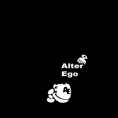 Alter Ego logo vector