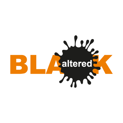 Altered Black vector logo