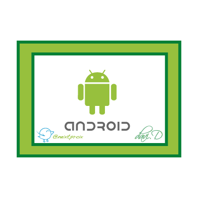Android robot (.EPS) logo template