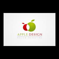 Apple Design logo template