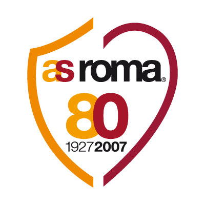AS Roma 80 logo vector