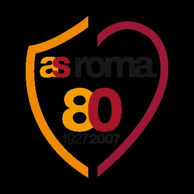 AS Roma 80 vector logo