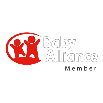 Baby alliance vector logo