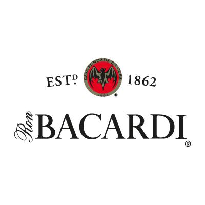 Bacardi EST logo vector