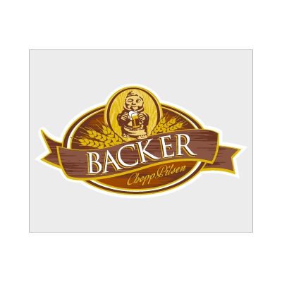 Backer logo vector