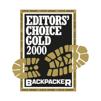 Backpacker vector logo