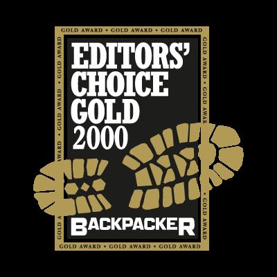 Backpacker logo vector