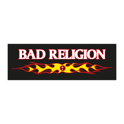 Bad religion music logo vector