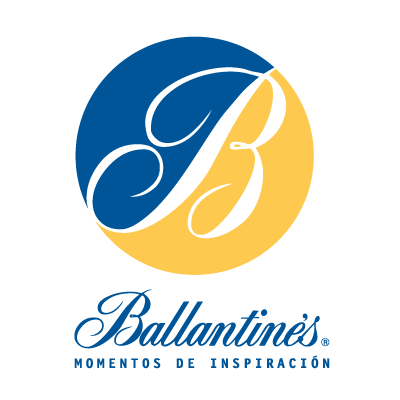 Ballantine's 50 logo vector