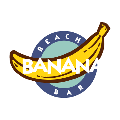 Banana Beach Bar logo vector