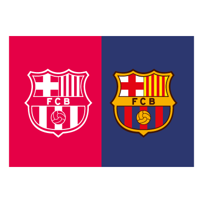 Barcelona signs material logo template