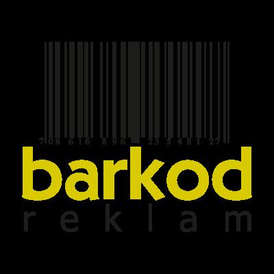 Barkod reklam logo vector