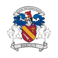 Bebout Family Crest vector logo