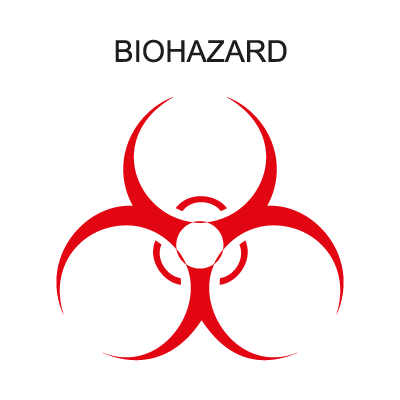 Biohazard Band vector logo