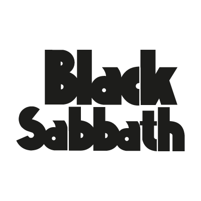 Black Sabbath 1986 logo vector