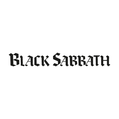 Black Sabbath Black logo vector