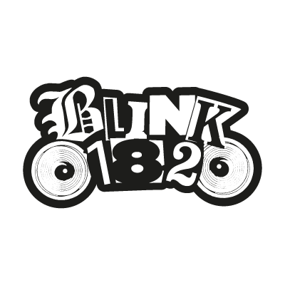 Blink182 logo vector