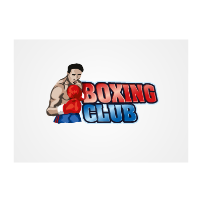 Boxing club logo template