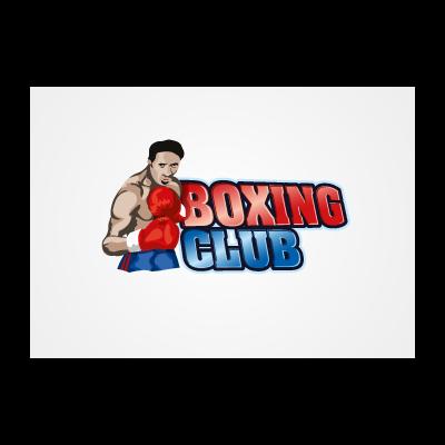 Boxing club logo template