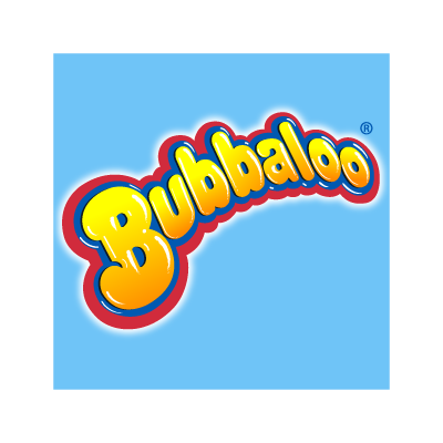 Bubbaloo logo vector