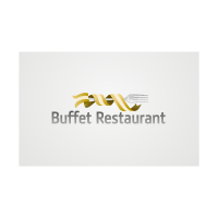 Buffet restaurant logo template