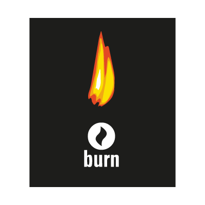 Burn logo vector